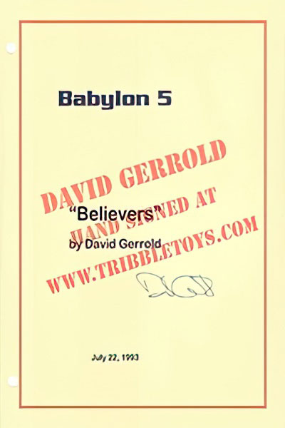 "Babylon 5 ""Believers"" Script"