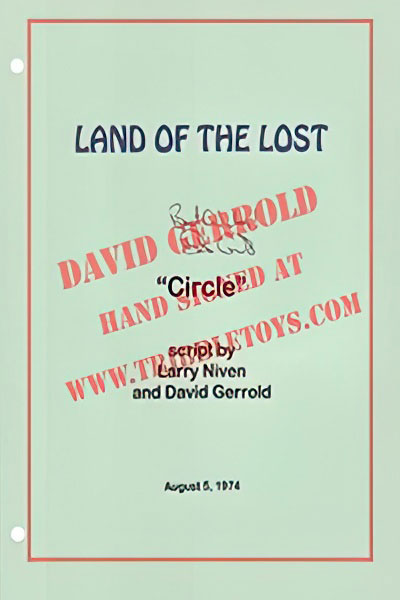 "Land of the Lost ""Circle"" Script"
