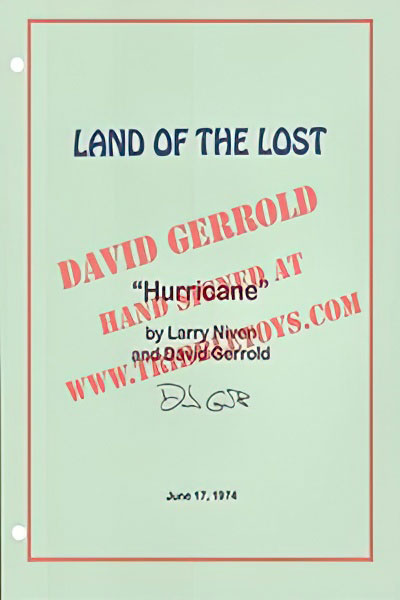 "Land of the Lost ""Hurricane"" Script"