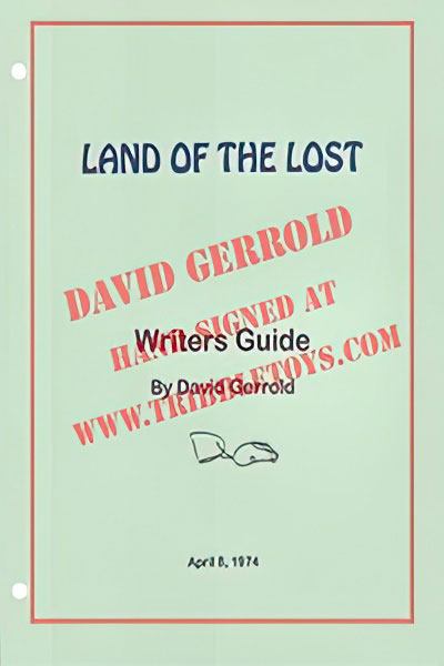 Land of the Lost Writers Guide