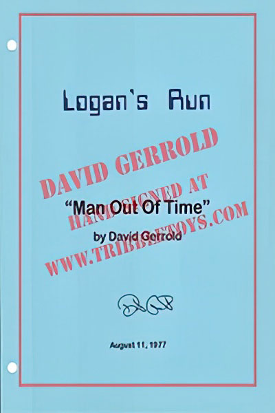 "Logan's Run ""Man Out of Time"" Script"