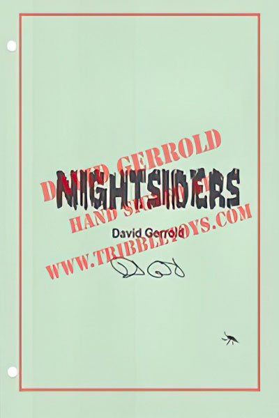 Nightsiders Original Movie Script