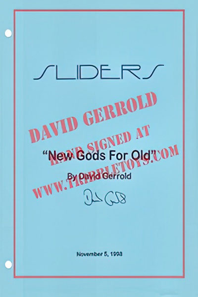 "Sliders ""New Gods For Old"" Script"