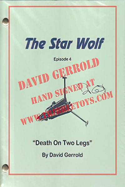 "The Star Wolf ""Death on Two Legs"" Script"