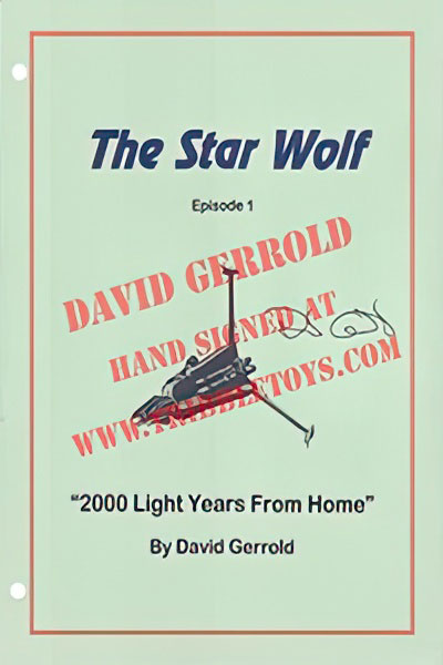"The Star Wolf ""2000 Light Years From Home"" Script"