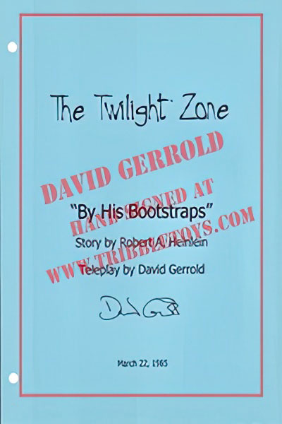 "The Twilight Zone ""By His Bootstraps"" Script"