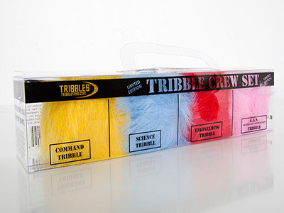 San Diego Comic-Con Limited Edition Tribble Crew Set