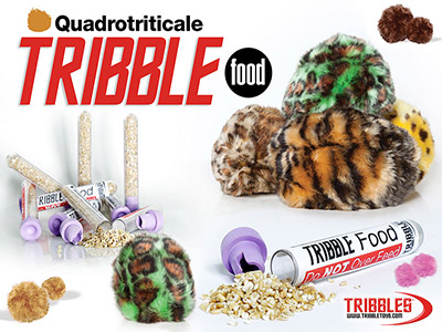 Quadrotriticale Tribble Food
